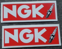 Sticker, NGK
