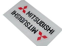 Sticker, Mitsubishi (sort)