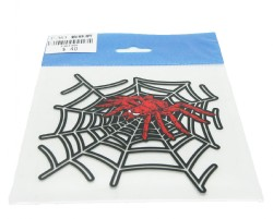Sticker, spider (sort)